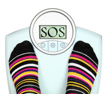 Dicken und Dünnenwitze - Zu viel/wenig Gewicht