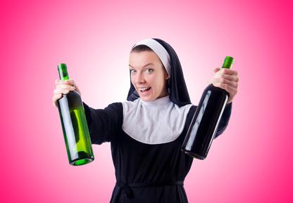 Kirchenwitze - Nonne Alkohol