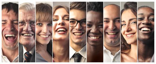 Lachen ist gesund - Lachen von vielen